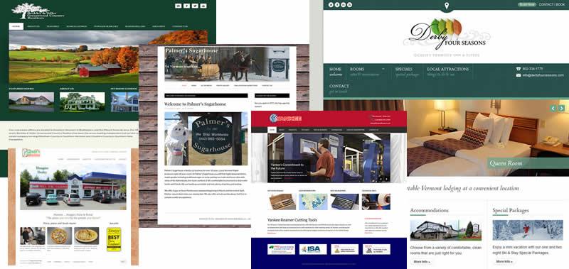 alpine vermont web design portfolio